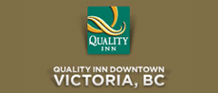The Quality Inn Downtown Victoria