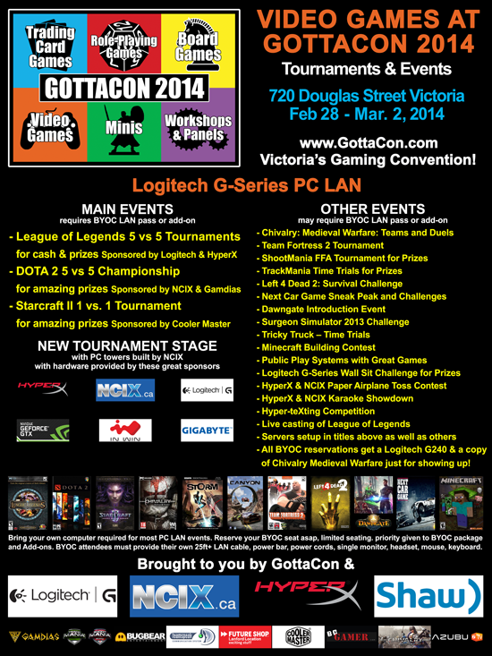 video games at GottaCon 2014